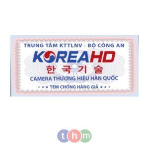 Tem chống giả Bộ Công An phát sang logo bảo an