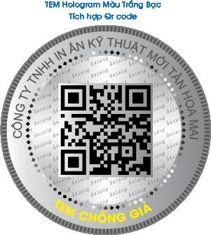 Tem Hologram QrCode Serial 3