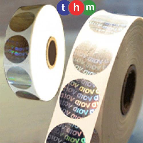 Tem cuộn Hologram chống giả 5