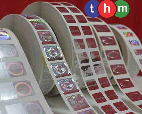 Tem cuộn Hologram chống giả 3
