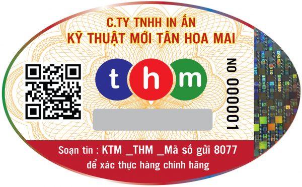 Tem Truy Xuất Nguồn Gốc Kết Hợp Chống Hàng Giả Điện Tử SMS Và Định Vị Hologram 2