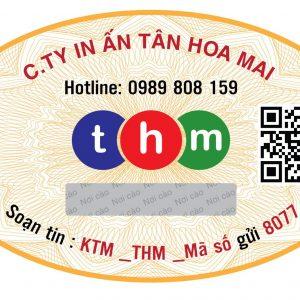In Tem Chống Hàng Giả | Tân Hoa Mai | 094 33 99 886 18
