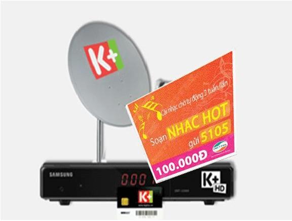 Thẻ cào K+ khuyến mãi