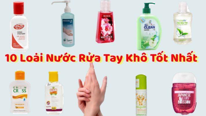 10 loại nước rửa tay được bác sĩ khuyên dùng. Chọn mua sản phẩm có tem chống hàng giả giúp nhận biết sản phẩm chính hãng