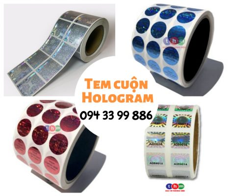 Tem Cuộn Hologram - Tem Chống Giả | IN TEM CHỐNG GIẢ