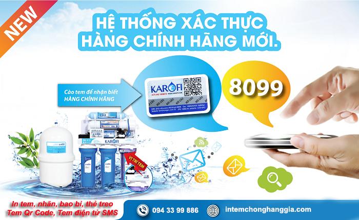 In tem chống giả điện tử sms - Tân Hoa Mai