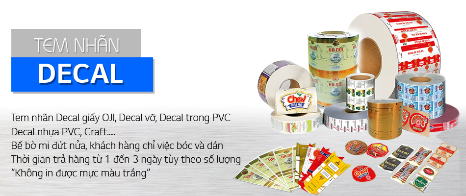 In tem nhãn nhanh nhất tại Tân Hoa Mai - Giá rẻ, miễn phí giao hàng