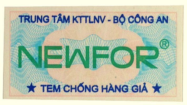 Tem chống hàng giả Bộ Công An - in tem chống hàng giả Tân Hoa Mai