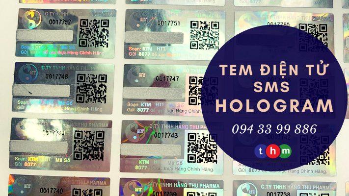tem điện tử chống giả sms