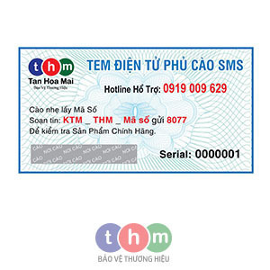 Tem Điện Tử SMS Chống Hàng Giả 2