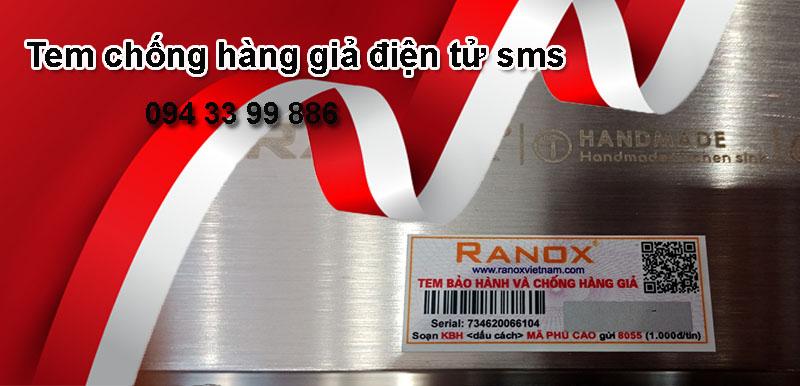tem chống giả điện tử sms 4.0 Tân Hoa Mai