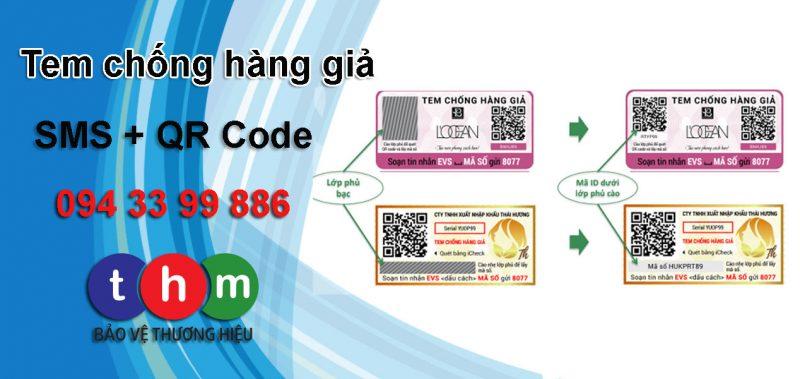 tem chống giả điện tử sms Tân Hoa Mai 02