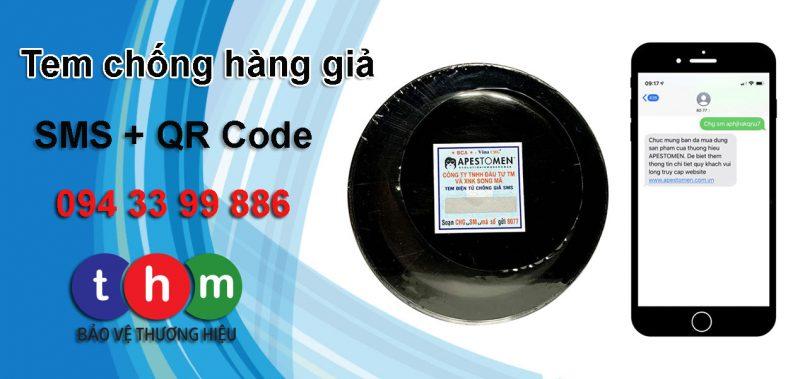 tem chống giả điện tử sms Tân Hoa Mai 04
