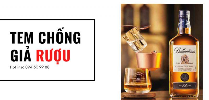 Tem Chống Rượu Giả - Cách Phân Biệt Rượu Chính Hãng 2