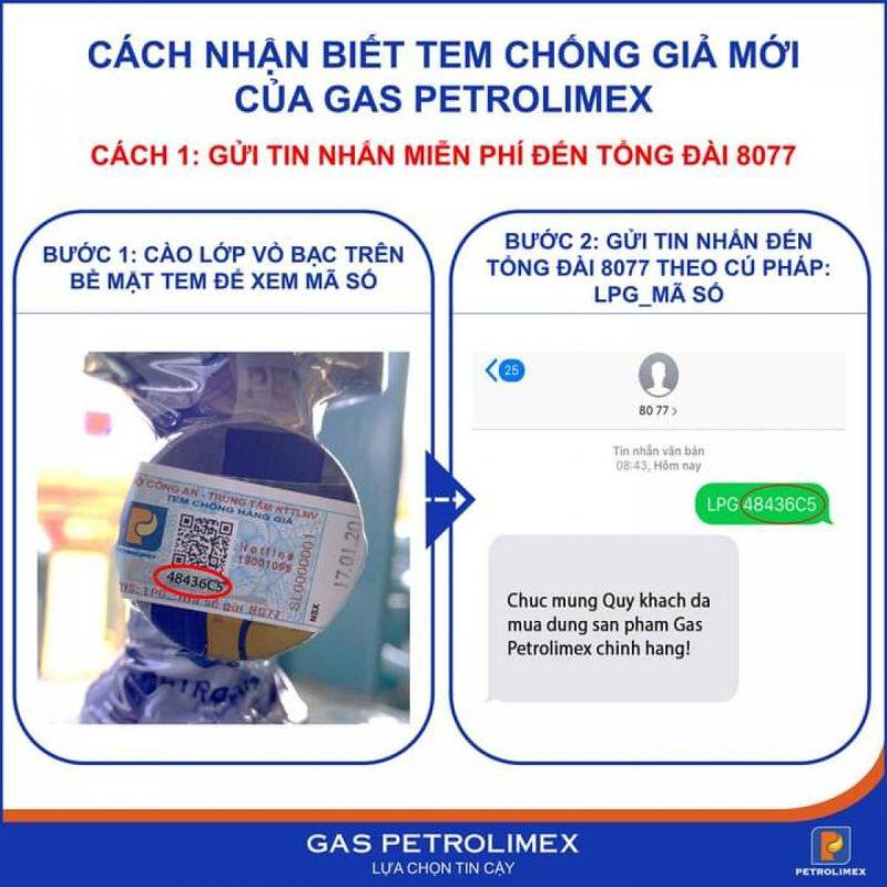 tem chống hàng giả gas petrolimex